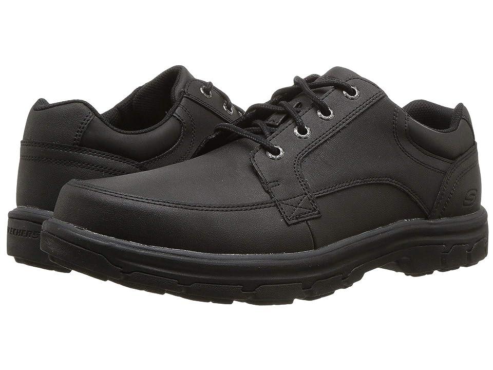 SKECHERS Relaxed Fit Segment Wolden (Black) Men