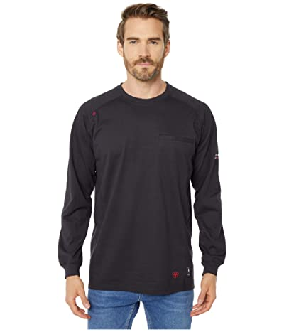 Ariat FR Air Crew T-Shirt (Black) Men