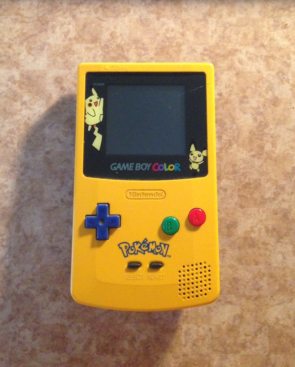Game Boy Color Popular shop is the lowest price challenge - Bombing free shipping Yellow Edition Pokemon Limited