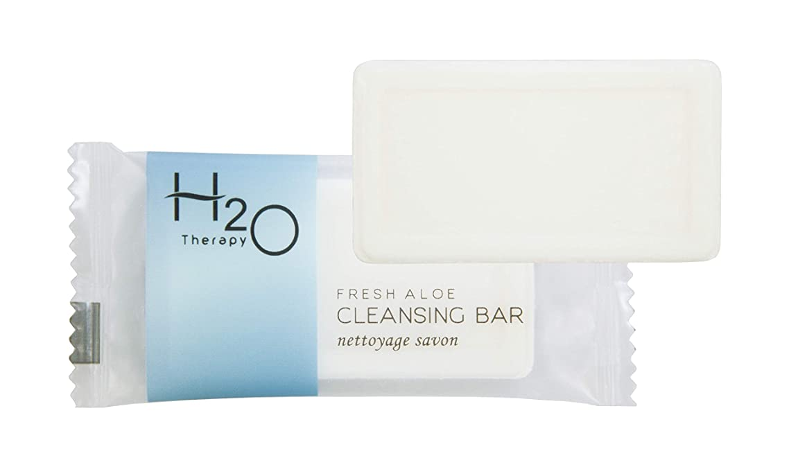 H2O Therapy Bar Soap, Travel Size Hotel Amenities, 0.88 oz (Case of 500)