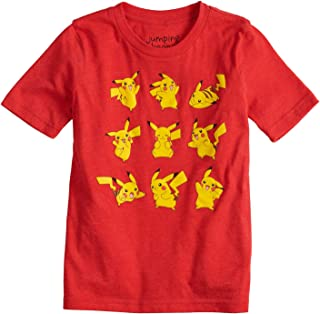 Jumping Beans Boys 4-10 Pokemon Pikachu Poses Graphic Tee