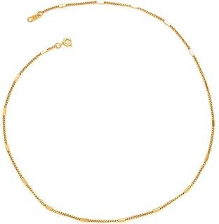 Gargantilla de Barritas - Chapa Oro 22k - Elegantia Jewelry