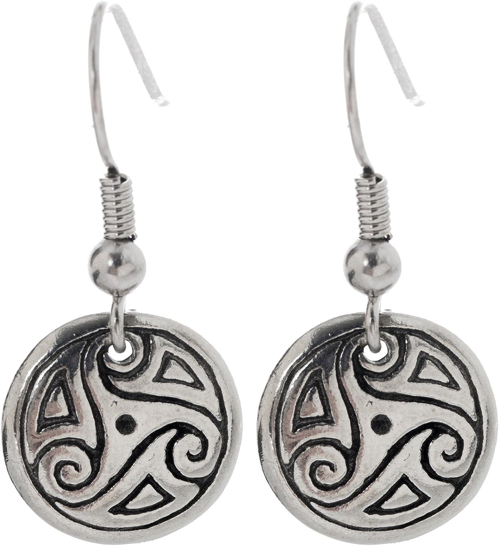 Handmade Celtic Trinity Knot Earrings Celtic Jewelry Irish Earrings Irish Jewelry