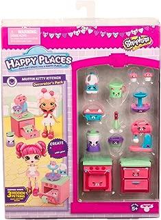 Shopkins Happy Places Season 3 Decorator Pack - Muffin Kitty Kitchen