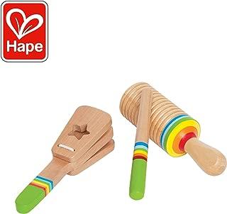 Hape Rhythm Kid's Wooden Musical Instrument Set