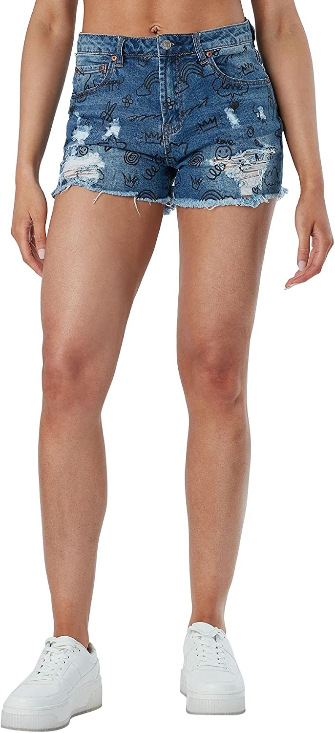 Almost Famous Women Collection Juniors Shorts Directly managed store safety