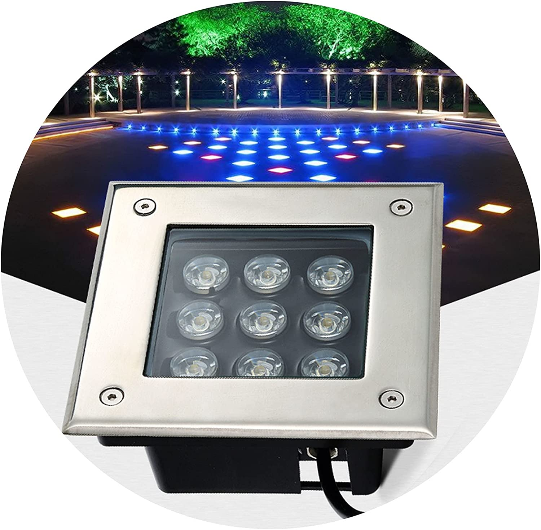 AWSAD Outdoor Inground Led Suitable Decking Lights Max 80% OFF Popular popular Square