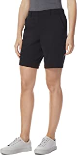 32 DEGREES Cool Womens Stretch Active Cargo Shorts,Black,XS(2)