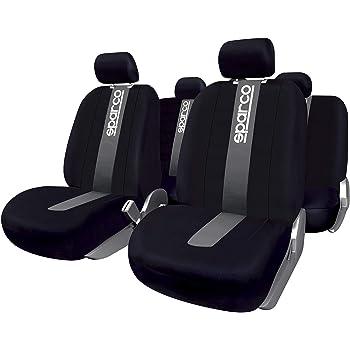 Schwarz-graue Dreiecke Classic Sitzbezüge für OPEL ASTRA Autositzbezug Set