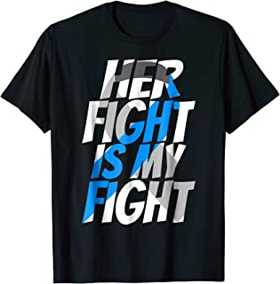Blue Ribbon Diabetes Type 1 Awareness Shirt to Support HER