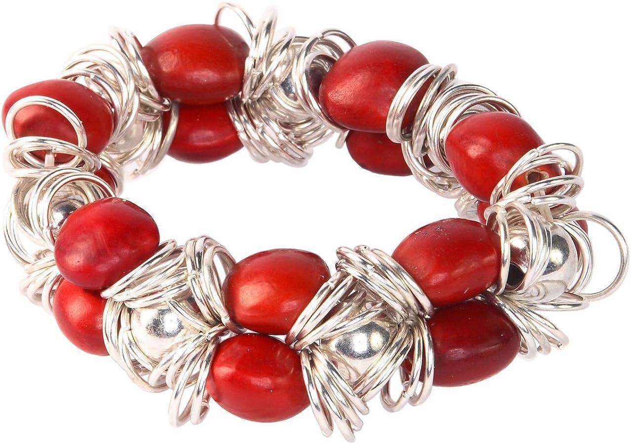 Evelyn Brooks Designs shop Stretchy Award Handmade Bracelet Women-w for Mea