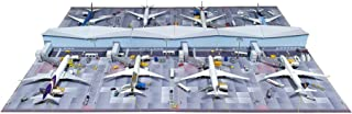 Makieta Satelitarnego Terminalu lotniskowego w skali 1/500