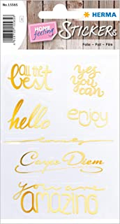 HERMA 15565 - Pegatinas creativas para niños, niñas, niños, bodas, cumpleaños, regalos, álbum de fotos, 7 pegatinas