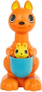 Little Tikes Fantastic Firsts Peeky Pals Kangaroo Press & Hop Toy, Multicolor (648823E7C)