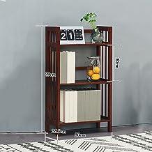 Yxsd Desktop Bookcase Brown Bookshelf Wooden Living Room Child Student Bedroom Bookcase (Size : 50cm)