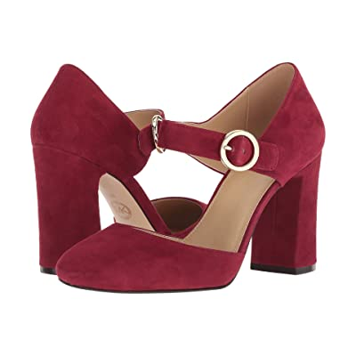 MICHAEL Michael Kors Alana Closed Toe (Maroon) Women