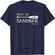 Torch Lake, Meet me at the Sandbar Michigan Vacation T-Shirt