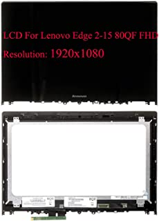 New 15.6'' FHD 1080P LCD Display Panel Touch Screen Assembly For Lenovo Edge 2 15 NV156FHM-A13 NV156FHM-N42