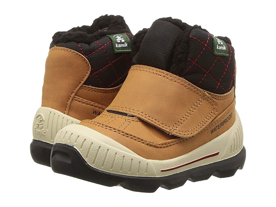 Kamik Kids Sawyer (Toddler) (Brown) Boys Shoes