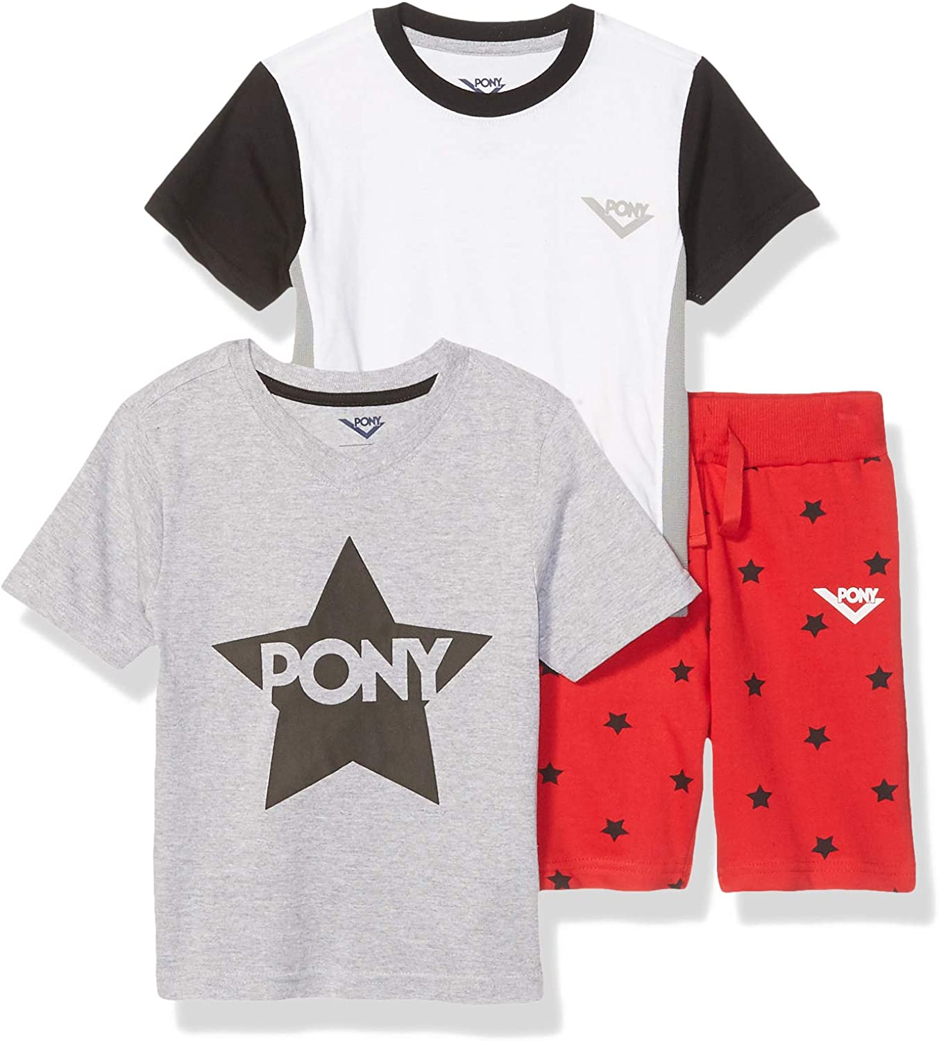 Pony Boys' Little 3 Gifts Short Set Active Piece Max 68% OFF