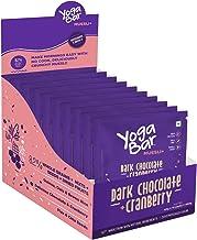 Yogabar Muesli+ Wholegrain Breakfast Muesli - Dark Chocolate + Cranberry, 40g*10 (Pack of 10 Pouch)