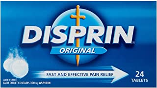Disprin Original Fasting Acting Pain Relief Tablets (Count of 24)