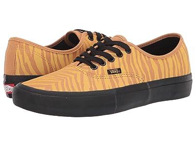 Vans Authentictm Pro ((Reflective) Tiger/Black) Skate Shoes