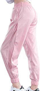 KDi Women Pants Casual Tie Waist Yoga Jogger Pants Sport Running Sweatpants