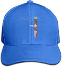 VIORICA Halsey-Badlands Vintage Baseball Cap Denim Hat Adjustable Black