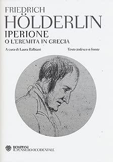 Iperione o l'eremita in Grecia. Testo tedesco a fronte