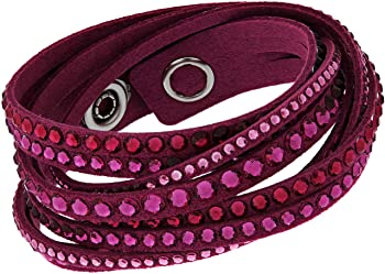 Swarovski 5124127 Slake Fuchsia Deluxe Bracelet