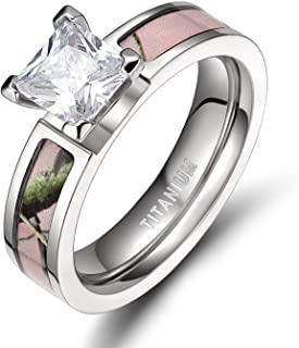 pink camo rings for women