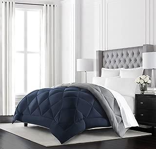 Beckham Hotel Collection Goose Down Alternative Reversible Comforter – All Season..
