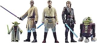 Star Wars Celebrate The Saga Spielzeuge Orden der Jedi Action-Figuren Set, 9,5 cm große..