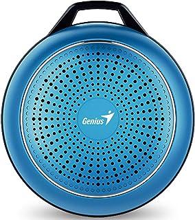 جينيوس SP-906BT بلس مكبر صوت للهواتف المحمولة - أزرق فاتح