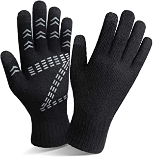 Sponsored Ad - Cierto Winter Knit Touchscreen Gloves Thermal Protection For Men & Women
