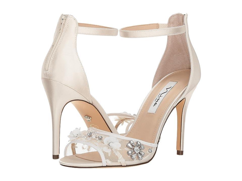 Nina Clarity (Ivory) Women's Sandals, White