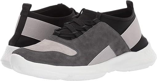 Carbon Grey Suede/Light Grey Suede/Black