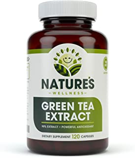 EGCG Green Tea Extract Capsules - Powerful Metabolism Booster for Weight Loss, Energy and Heart Health - Green Tea Pills a...