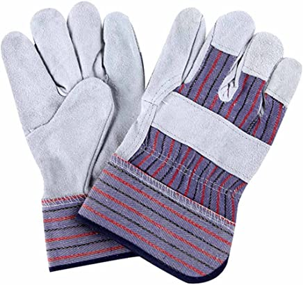 RenShiMinShop Hochtemperatur-Anti-Rutsch-Handschuhe aus verschleißfestem Leder. Lange Länge aus weichen, industriellen, strapazierfähigen Handschuhen B07FDVC1LD  | Passend In Der Farbe