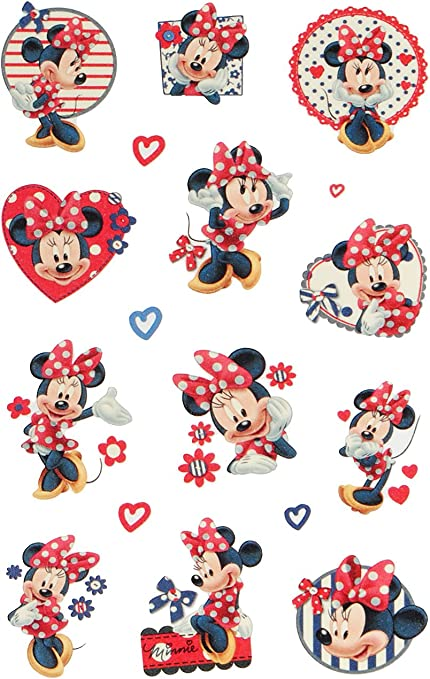 kleines G/ästehandtuc.. Frottee // Velours inkl Baumwolle 100 /% 40 cm * 60 cm Minnie Mouse Disney alles-meine.de GmbH kleines Kinderhandtuch // Handtuch //G/ästetuch Name
