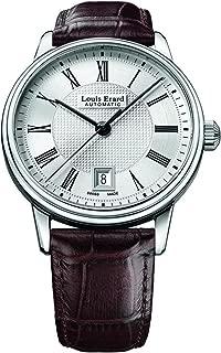Louis Erard Men's Heritage Automatic Silver Dial Watch 69266AA21.BDC80