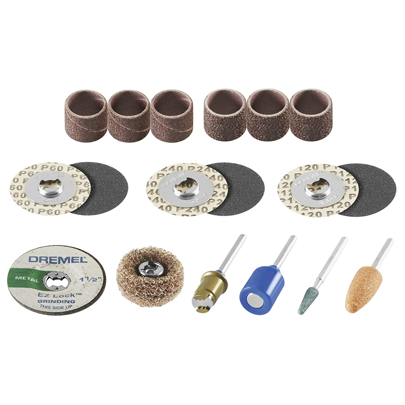 Dremel EZ686-01 EZ Lock Sanding and Grinding Kit