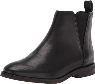 Lucky Brand Women's HAYLIA Bootie Chelsea Boot, BLACK, numeric_8