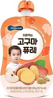 BeBecook My First Yummy Puree (Sweet Potato w Oatmeal), 80 g