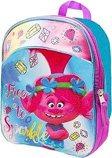 Dreamworks Trolls Toddler Preschool Backpack 11 Inch Mini Backpack (Trolls School Supplies)