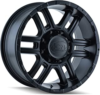Ion Alloy Style 179 Wheel with Matte Black Finish (16x8