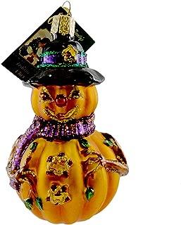 Old World Christmas MR. MISTER JACK O'LANTERN Blown Glass Ornament Mercks 26034