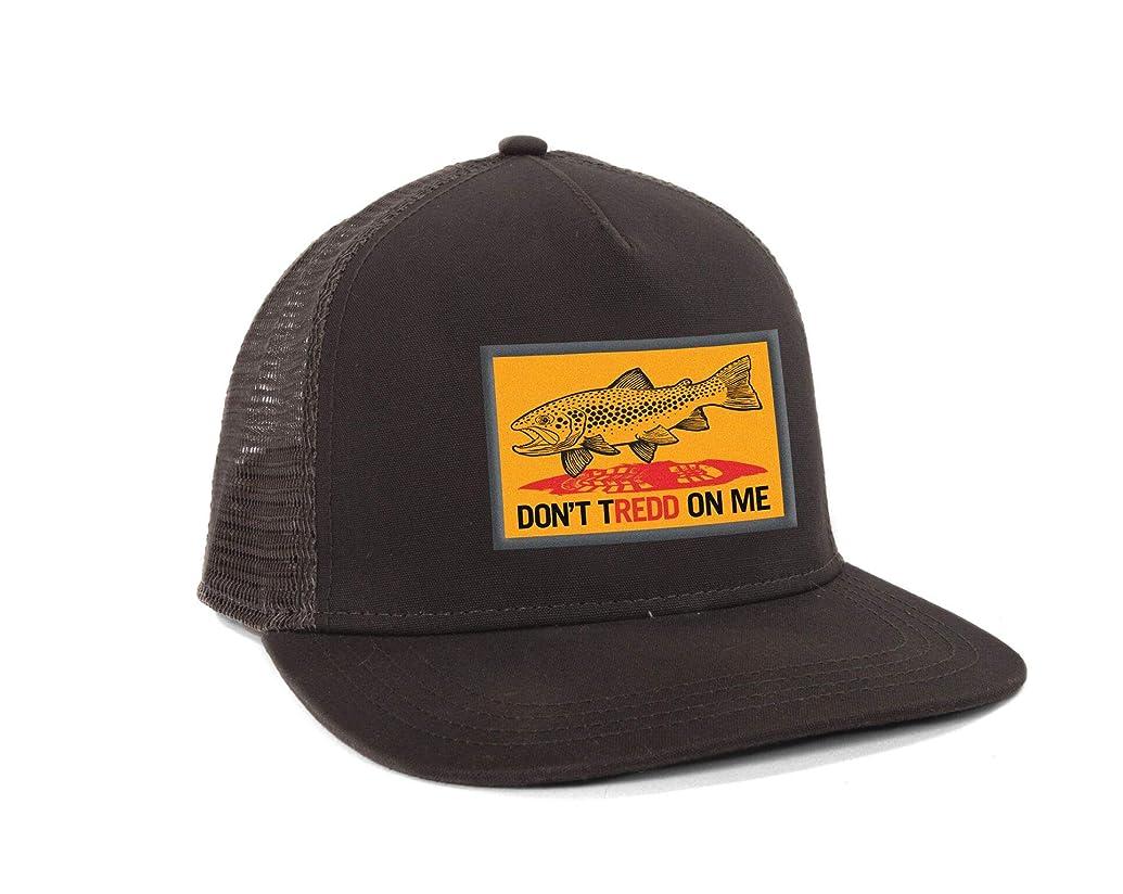 意外減衰ピストンFishPond Don't Tredd 帽子 チャコール