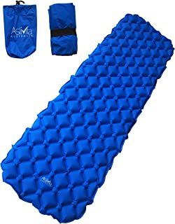 AstiVita Camping Sleeping Pad - Mat, (Large), Ultralight 480g, Best Sleeping Pads for Backpacking, Hiking Air Mattress - L...